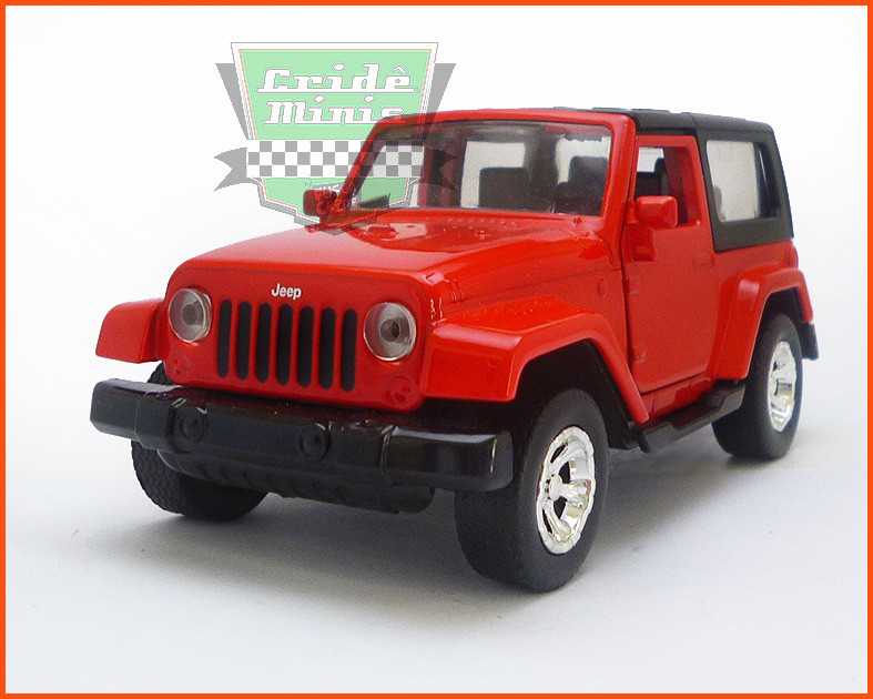 Jada Jeep Wrangler vermelho - escala 1/32