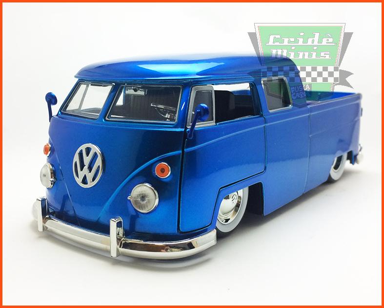 Jada Kombi Pick-Up Cabine Dupla azul - 1963
