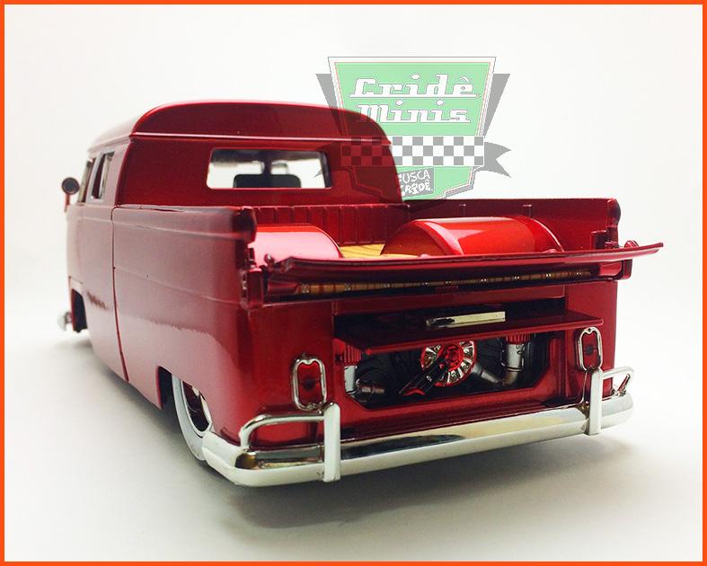 Jada Kombi Pick-Up Cabine Dupla vermelha - 1963