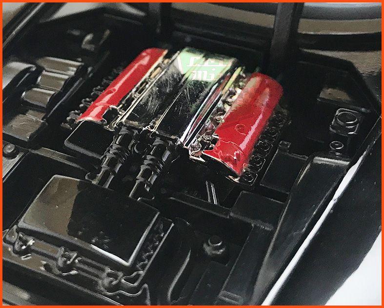 Jada Letty´s Dodge Viper SRT10 - Velozes & Furiosos - escala 1/24
