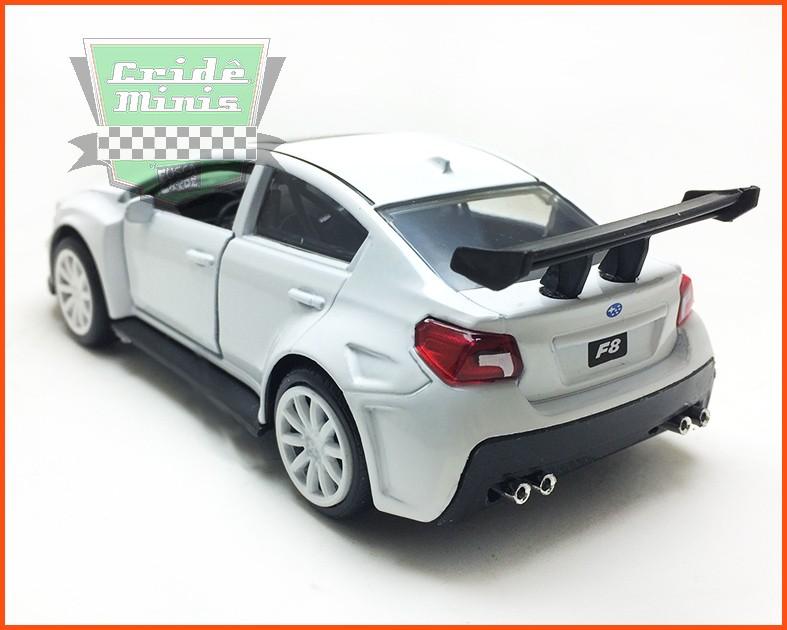 Jada Little Nobody´s Subaru WRX STI - Velozes & Furiosos - escala 1/32