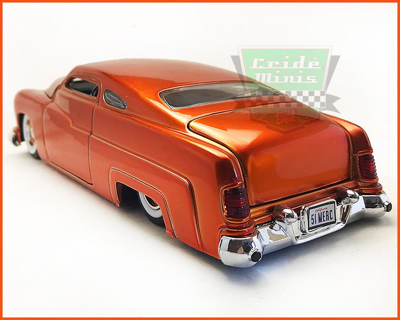 Jada Mercury Orange Metal 1951 - escala 1/24
