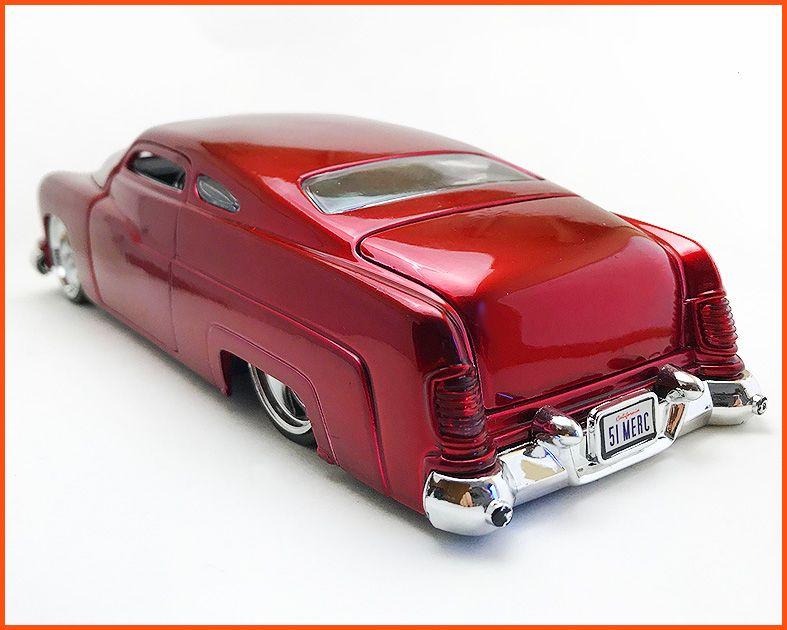 Jada Mercury Red Metal 1951 - escala 1/24
