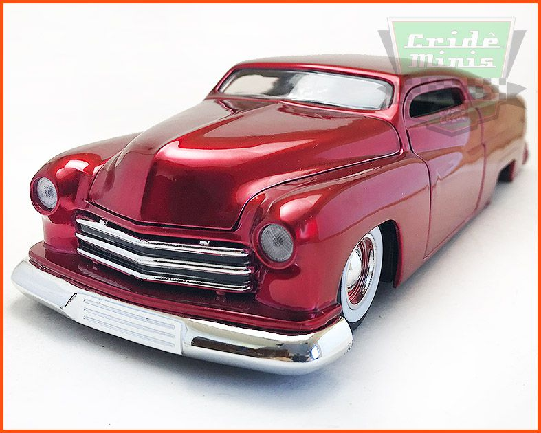 Jada Mercury Red Metal 1951 - escala 1/24