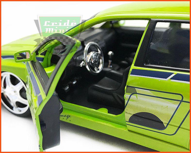 Jada Mitsubishi Lancer Evolution - Velozes & Furiosos - escala 1/24