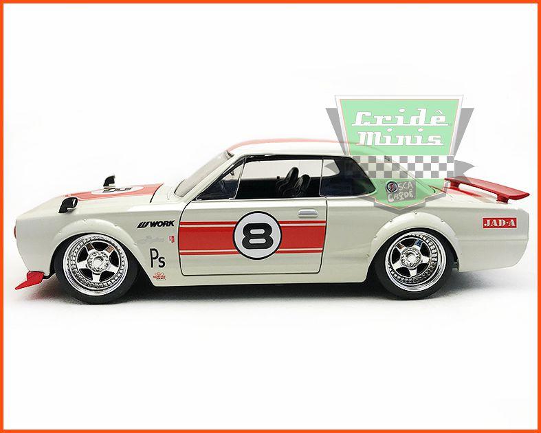 Jada Nissan Skyline 2000 GT-R 1971 - escala 1/24