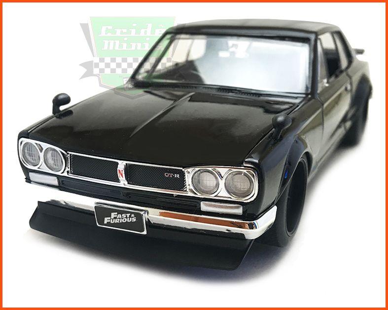Jada Nissan Skyline 2000 GT-R Brian´s - Velozes & Furiosos - escala 1/24