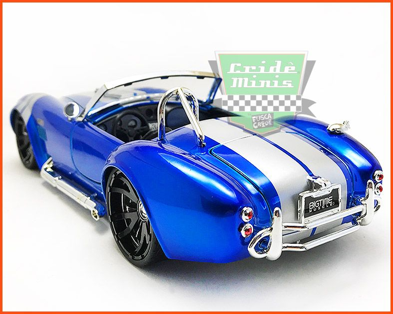 Jada Shelby Cobra 1965 - escala 1/24