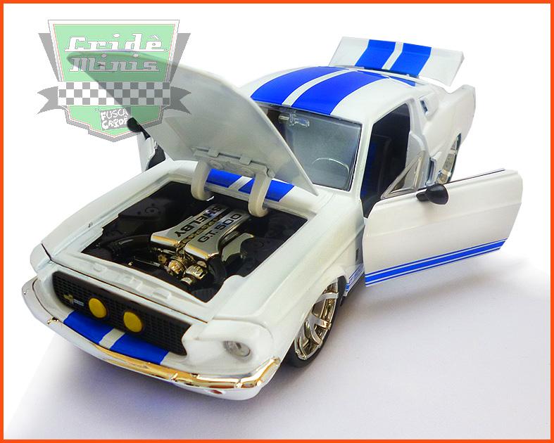 Jada Shelby GT 500 1967 - escala 1/24