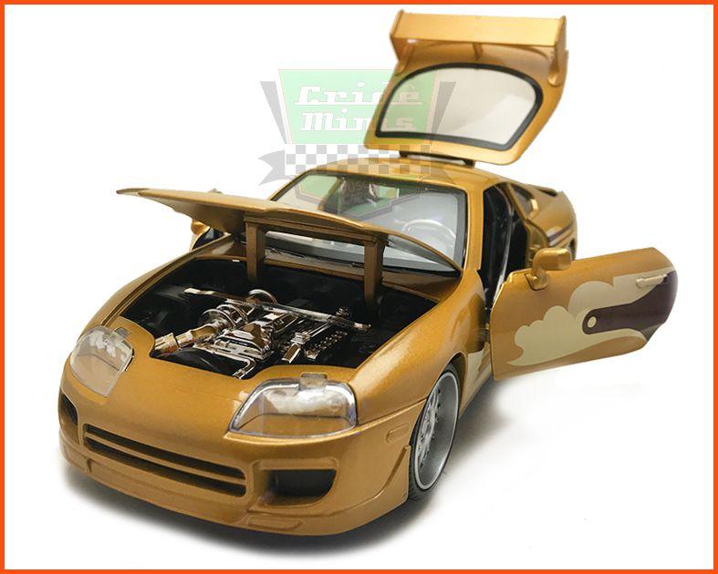 Jada Toyota Supra Slap Jack´s - Velozes & Furiosos - escala 1/24