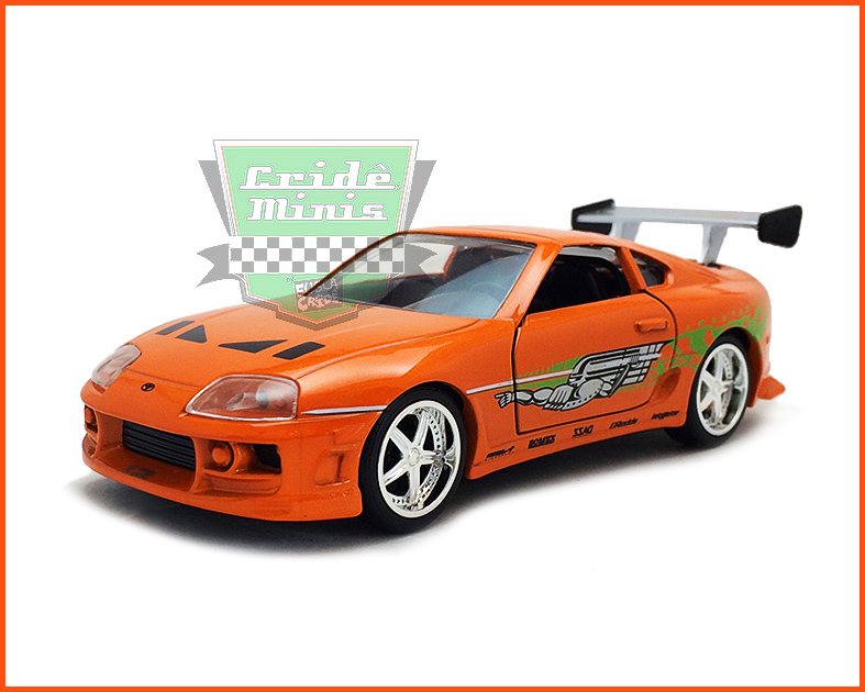 Jada Toyota Supra - Velozes & Furiosos - escala 1/32