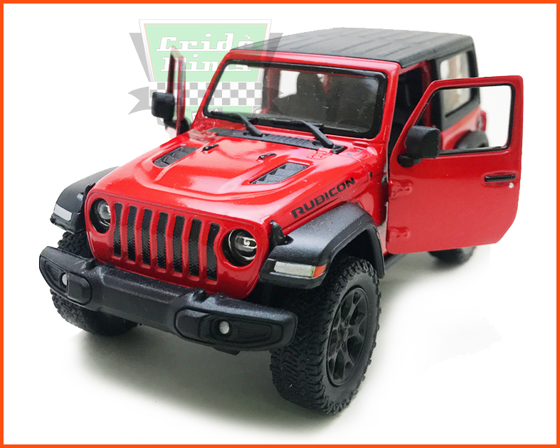 Jeep Wrangler 2018 Red - escala 1/32