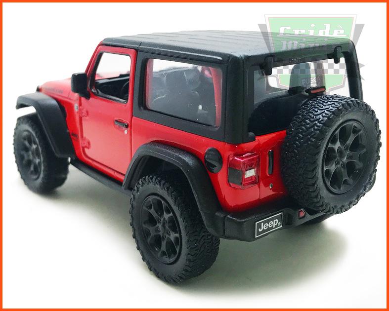 Jeep Wrangler 2018 Red - escala 1/32