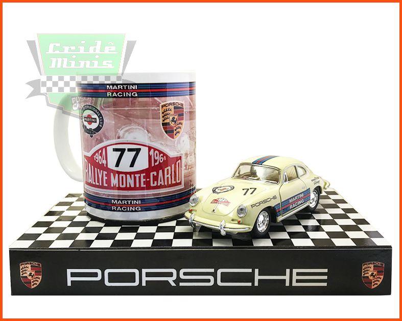 Porsche 356 Rallye de Monte Carlo 1964 - Kit Peça EXCLUSIVA - 15 dias de produção
