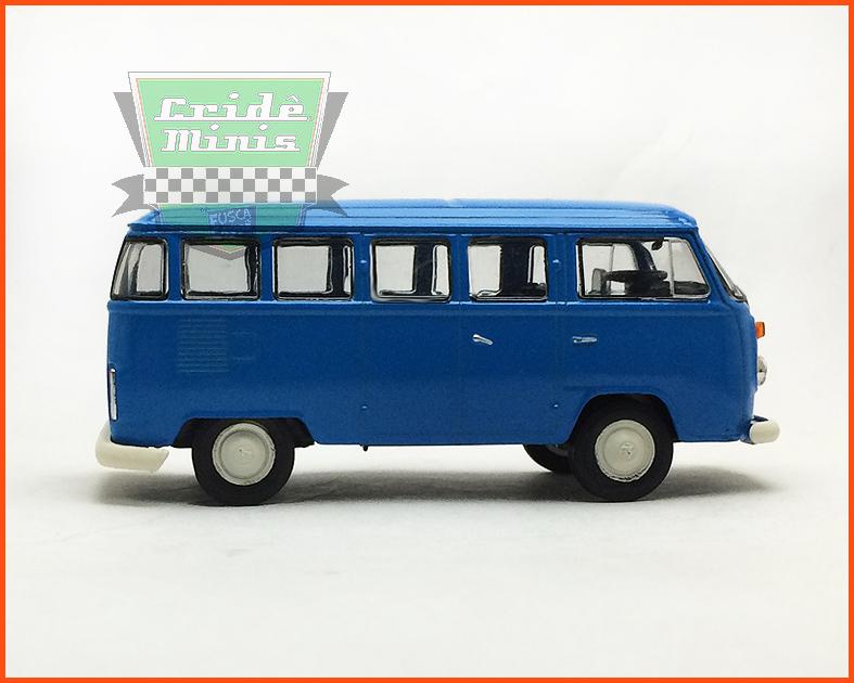 VW Kombi 1976 - Carros Nacionais - escala 1/43