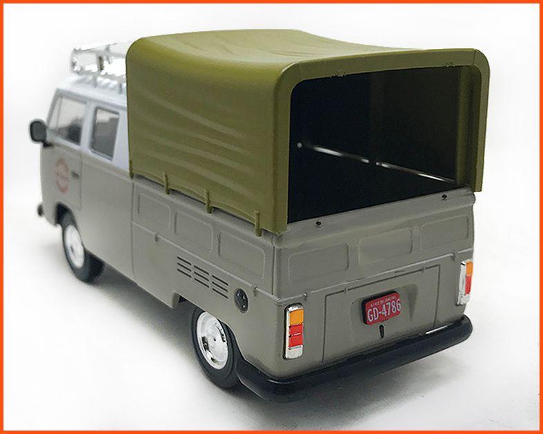 Kombi CD 1981 - Carros Nacionais  escala 1/43