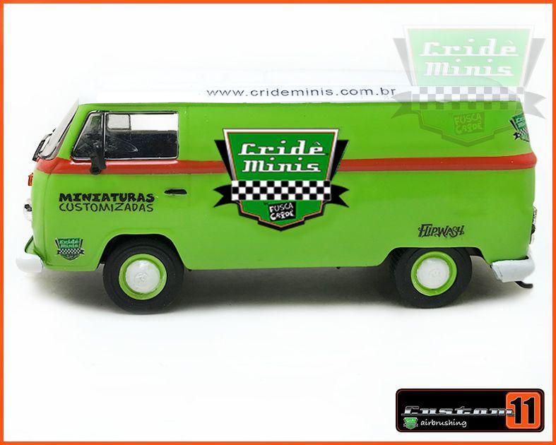 Kombi Crideminis Comemorativa Customizada Peça única - escala 1/43