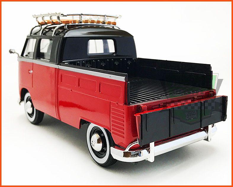 Kombi De Luxo Cabine Dupla 1969 - escala 1/24