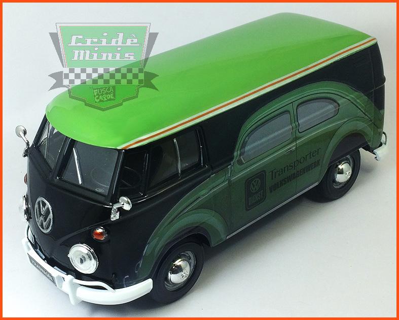 Kombi Furgão DIENST VW 1969 - 8 dias de produção - escala 1/24