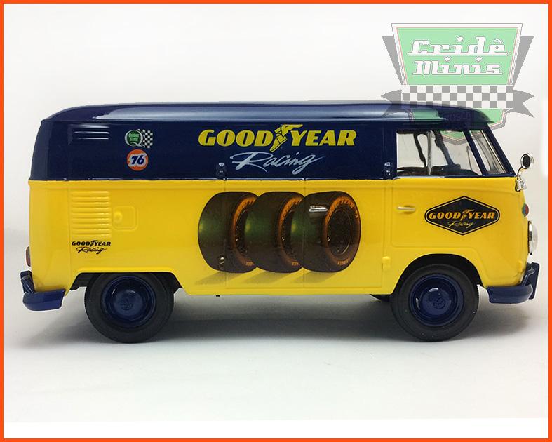 Kombi Furgão GOODYEAR RACING 1969 - 8 dias de produção - escala 1/24