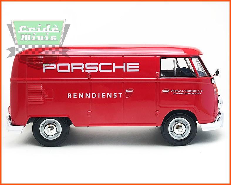 Kombi Furgão Porsche 1969 - escala 1/24