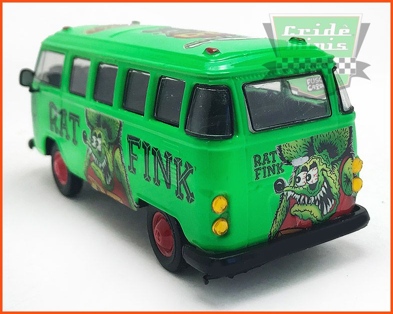 Kombi Rat Fink Customizada - escala 1/43