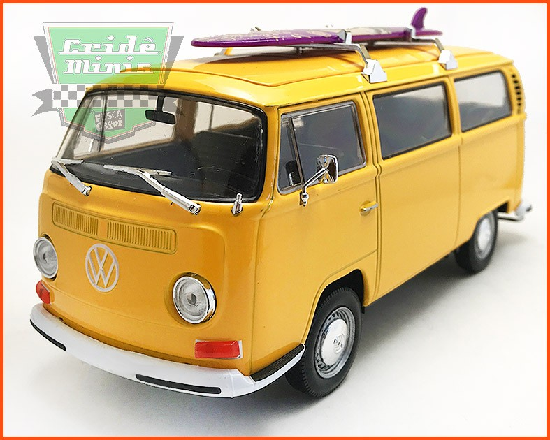 Kombi Surfista Type 2 1972 - escala 1/24