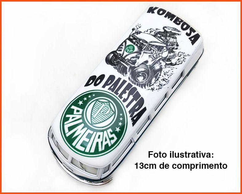 Kombi Time Palmeiras artesanal - escala 1/32