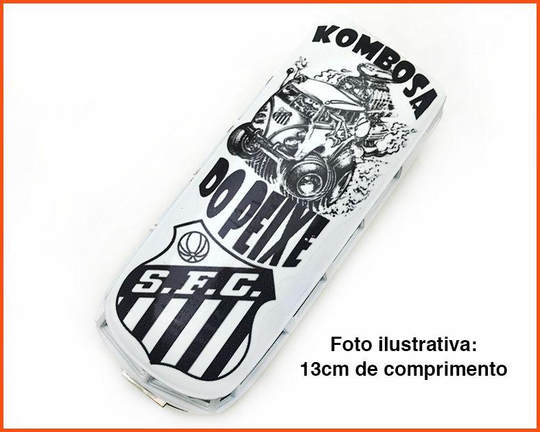 Kombi Time Santos artesanal - escala 1/32