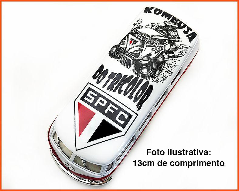 Kombi Time São Paulo artesanal - escala 1/32