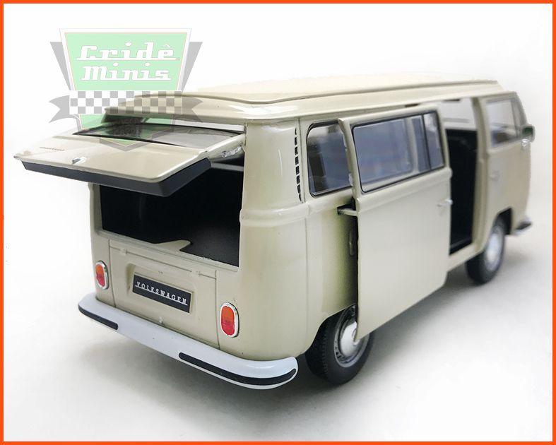 Kombi Type 2 1972 Creme - escala 1/24