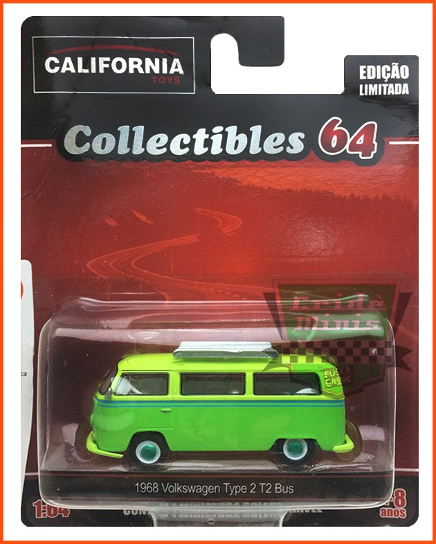 Kombi Type 2 T2 1968 - escala 1/64