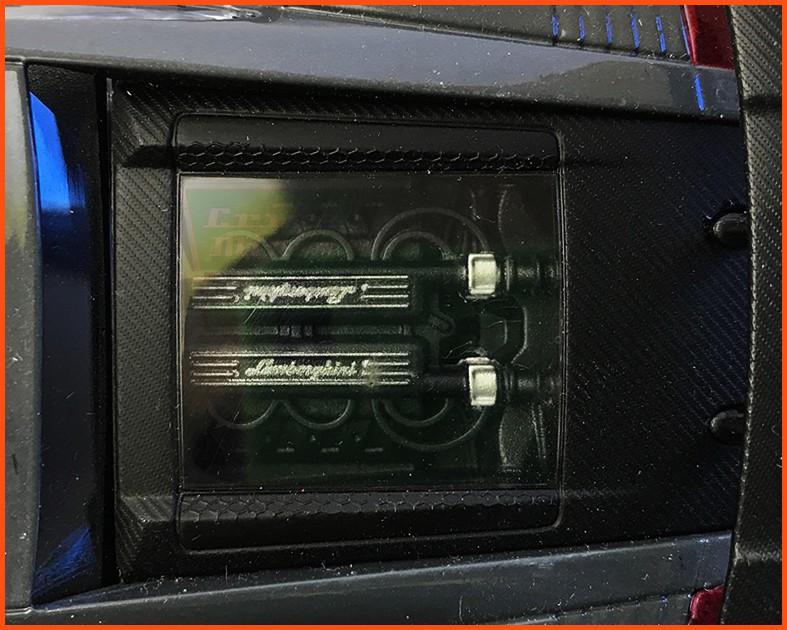 Lamborghini Gallardo Superleggera - escala 1/24