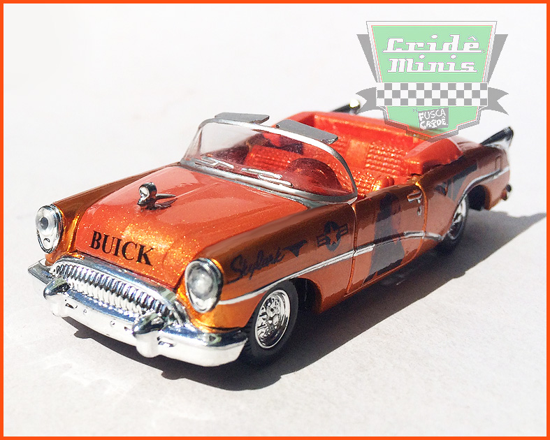 M2 Buick Skylark 1954 U.S ARMY Customizado - escala 1/64