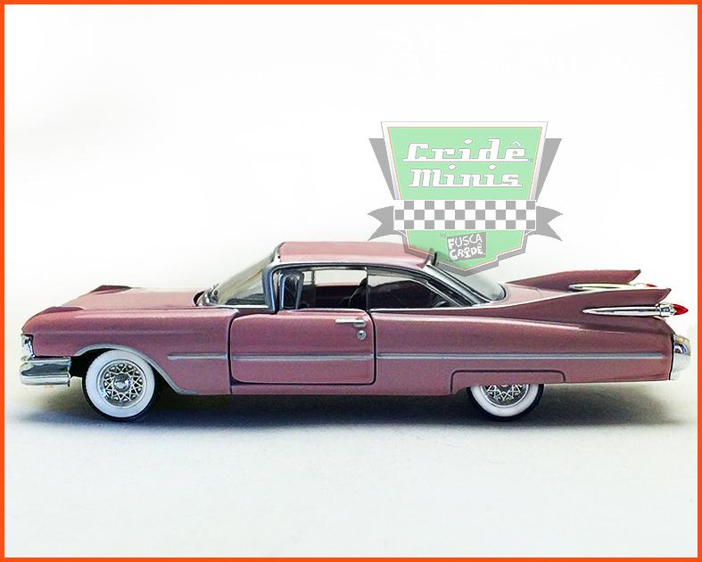 M2 Cadillac 1959 Series 62 - Edição Premium - escala 1/64