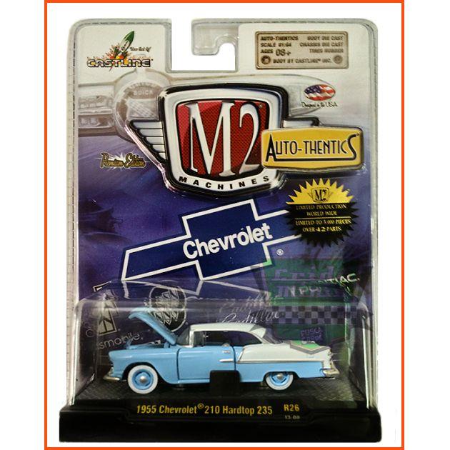 M2 Chevrolet 210 Hardtop 235 1955  Ed. Lim. 5.000 unid. - escala 1/64