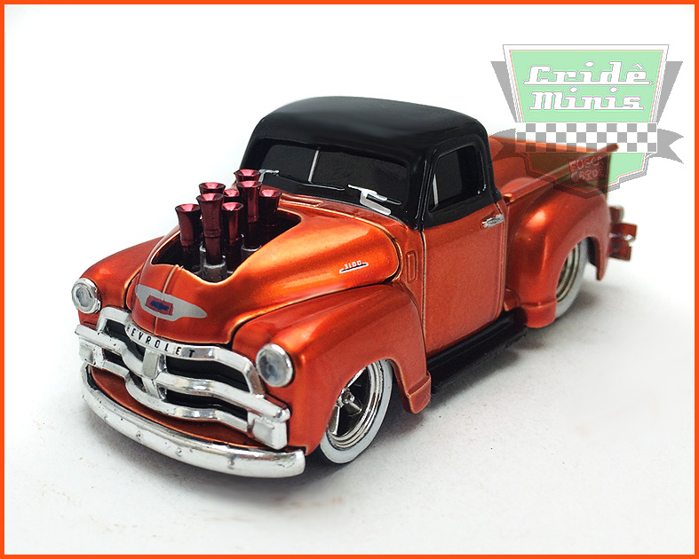 M2 Chevrolet 3100 Truck 1954 - Premium Edition - escala 1/64