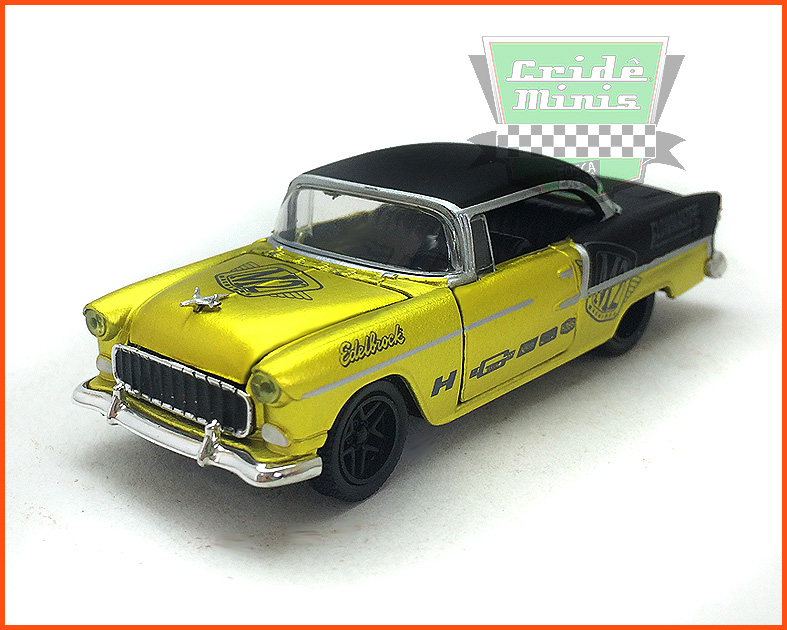 M2 Chevrolet Bel-Air Hard Top Custom 1955 - Premium Edition - escala 1/64