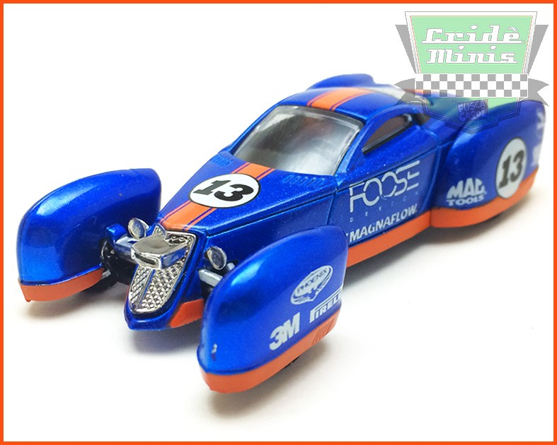 M2 Coupe Land Speed Racer - Mod. RARO 3.800 peças no Mundo - escala 1/64