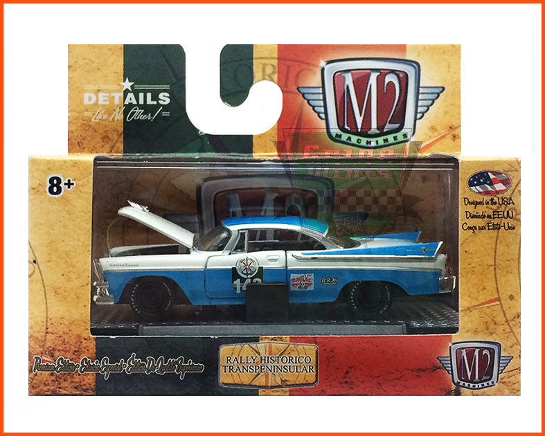 M2 Dodge Custom Royal Lancer Premium Edition 6.800 peças - escala 1/64