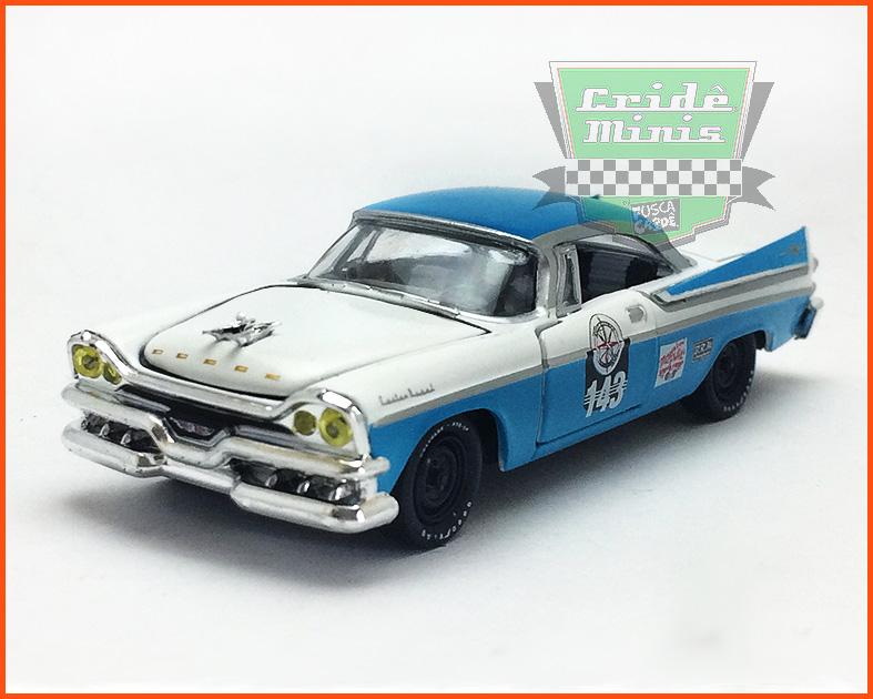 M2 Dodge Custom Royal Lancer Premium Edition 6.800 peças - escala 1/64