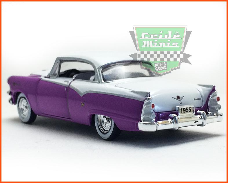 M2 Dodge Royal Lancer 1955 Edição Premium - escala 1/64