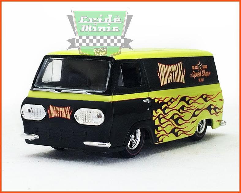 M2 Ford Econoline 1965 - Premium Edition 1.600 unid. - Especial MJToys - escala 1/64