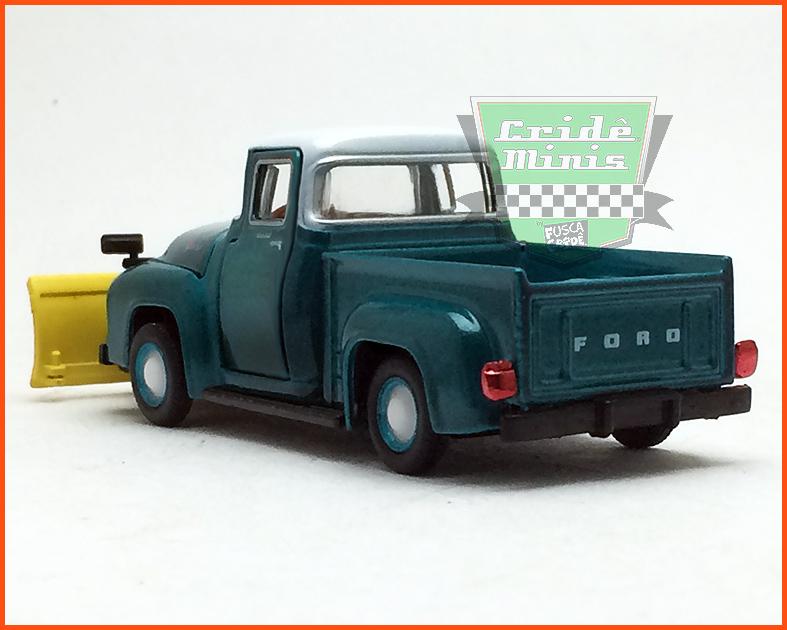 M2 Ford F-100 1956 Edição Premium - escala 1/64