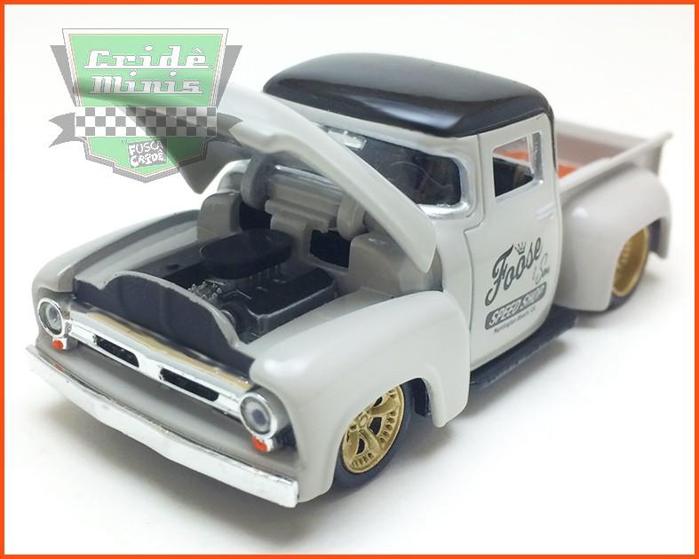 """M2 Ford F-100 """"Foose Overford"""" - Mod. RARO 3.800 peças no Mundo - escala 1/64"""