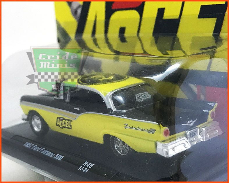 M2 Ford Fairlane 500 1957 ACCEL - escala 1/64