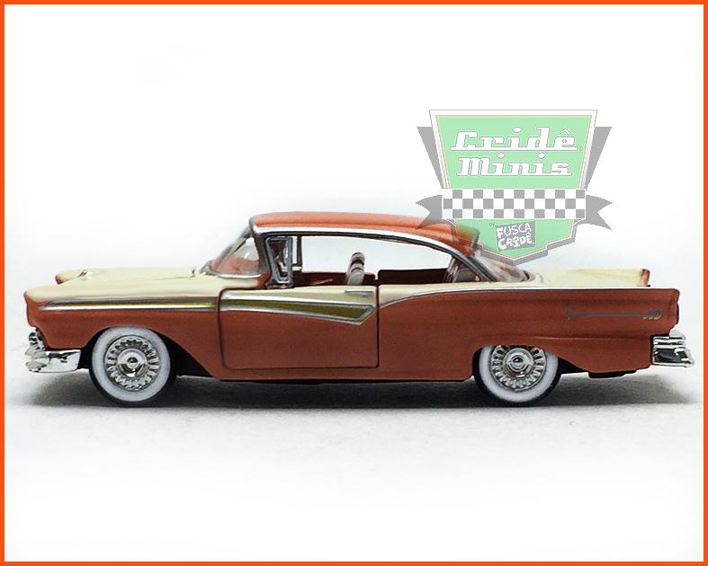 M2 Ford Fairlane 500 1957 Edição Premium - escala 1/64