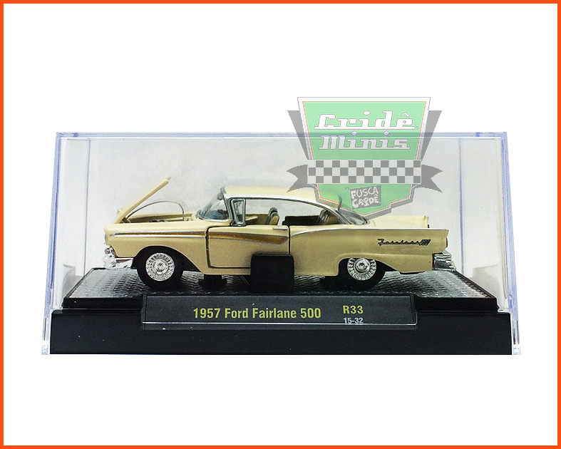 M2 Ford Fairlane 500 1957 - Premium Edition - escala 1/64
