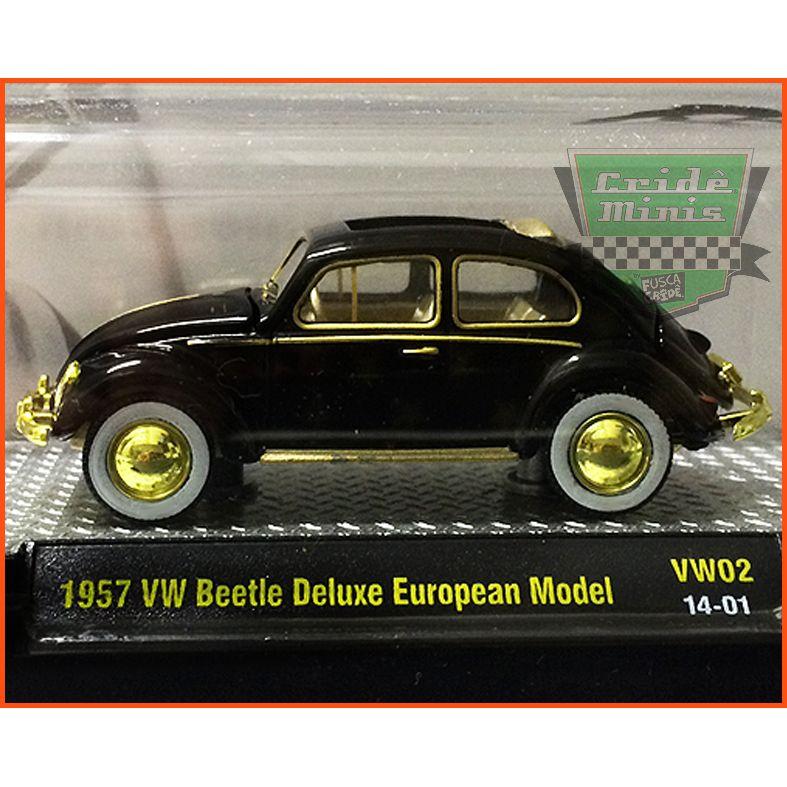 M2 Fusca DeLuxe European Model 1957 CHASE 888 unid. no Mundo!
