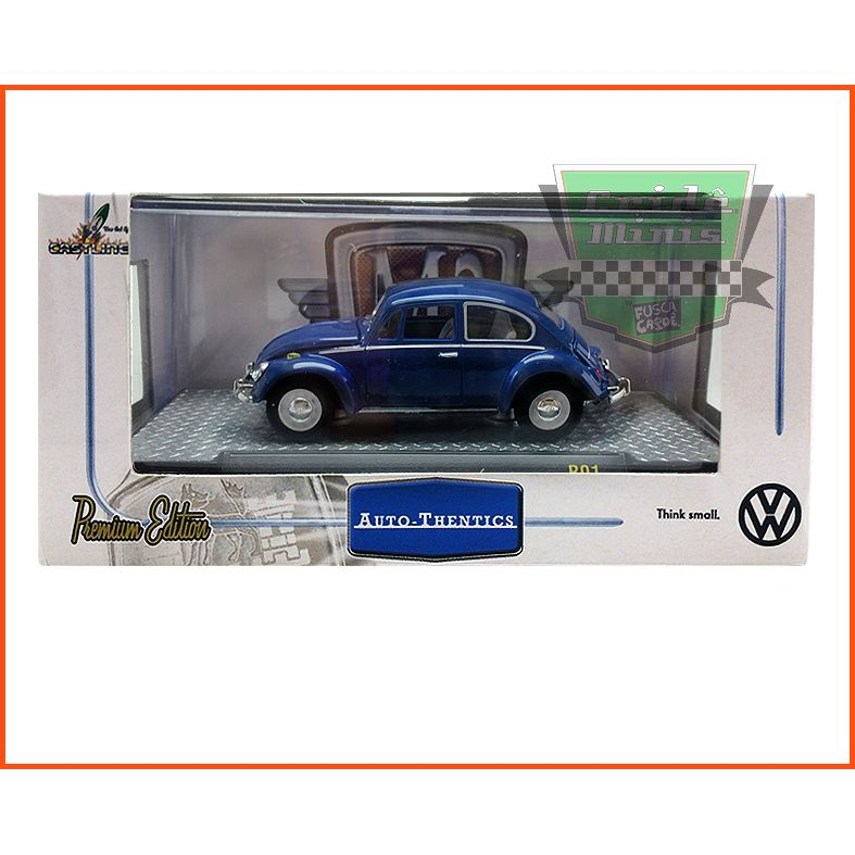 M2 Fusca - VW beetle Deluxe European Model 1967 - escala 1/64
